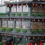 『阿妹茶酒館(アーメイチャージウグァン)』湯婆婆の屋敷のモデルではないみたいですが。