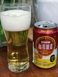 ビールみたいでマンゴーソーダみたいな台湾ビールマンゴー味